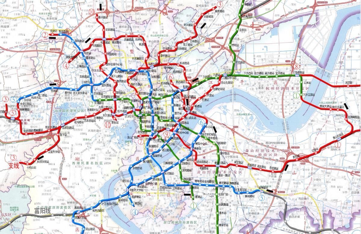 巴西利亚地铁线路图