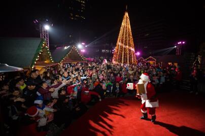 下沙的小伙伴们,今年都来新加坡杭州科技园过圣诞啦