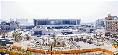 杭州南站预计今年10月投入使用