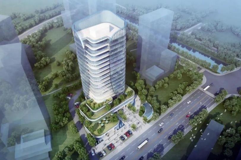 杭州缙云大厦主体结顶 计划明年4月完工
