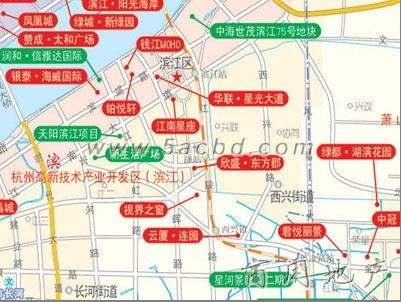 地铁口精装修东方商务会馆,杭州市滨江区地铁口精装修